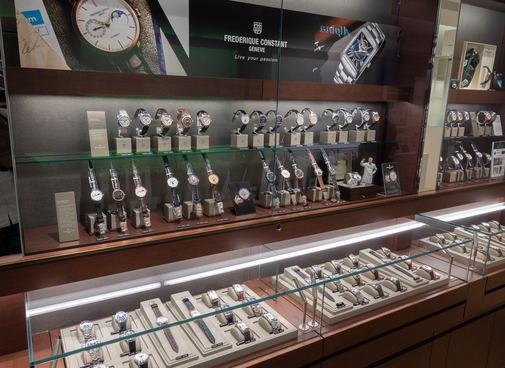 Frederique Constant Display
