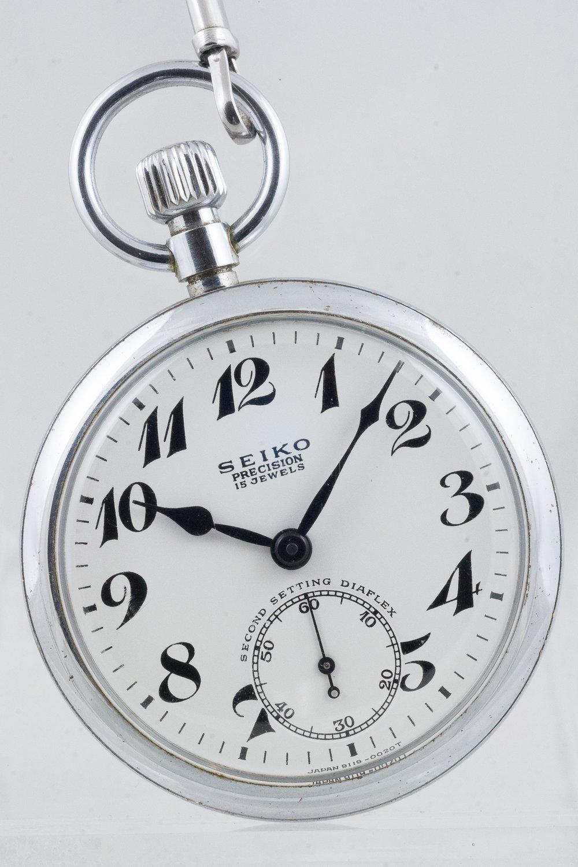 91RW Railway Pocket Watch