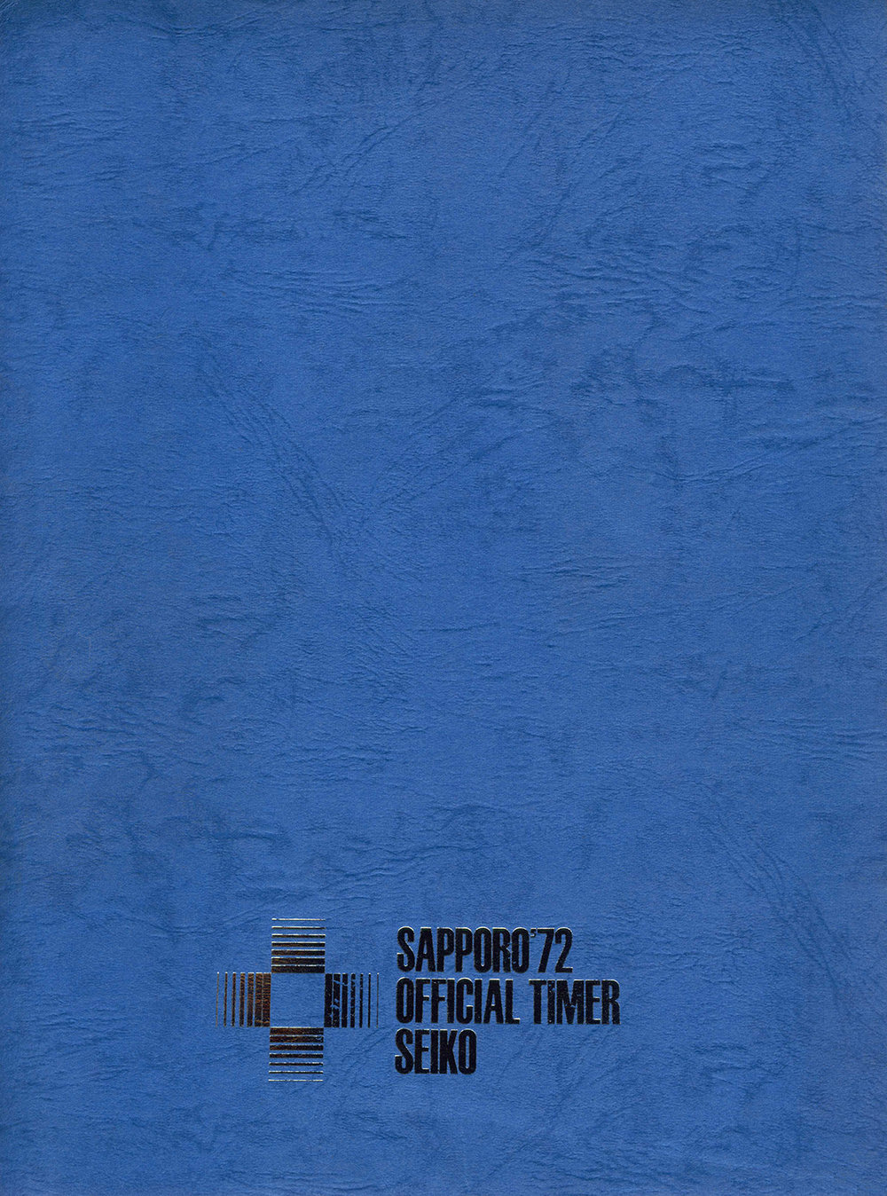 Sapporo '72 Official Timer Folder