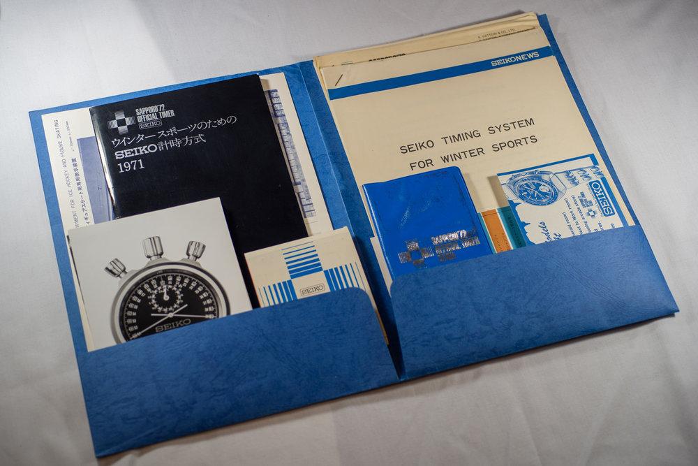 '72 Folder Contents