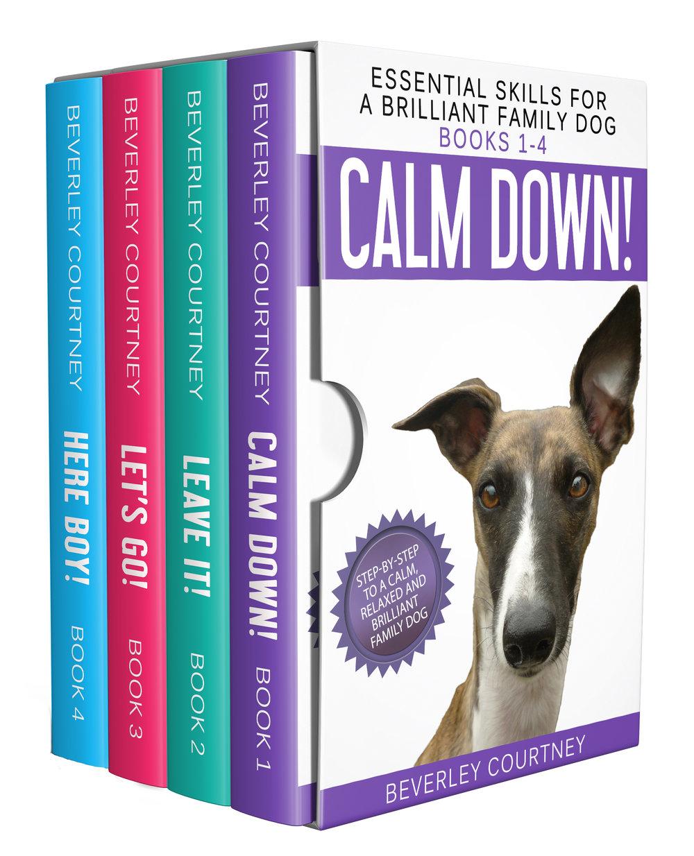 Dog training, puppy training | Boxset of Essential Skills for a Brilliant Family Dog, books 1-4  | CLICK FOR DETAILS | www.brilliantfamilydog.com