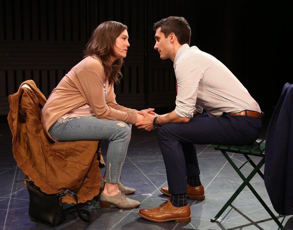 Sara Bues and Charles Socarides