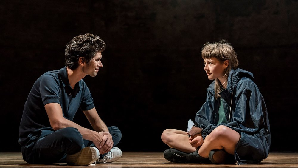 Ben Whishaw and Emma D'Arcy