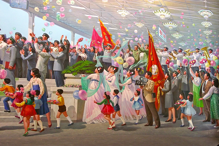Pyongyang Marathon - LA GARA PIÙ BIZZARRA DELLA VOSTRA VITAPyongyang - DMZ - Kaesong Itinerari a partire da 880 €Partenze settimanali.VAI ALLA SCHEDA