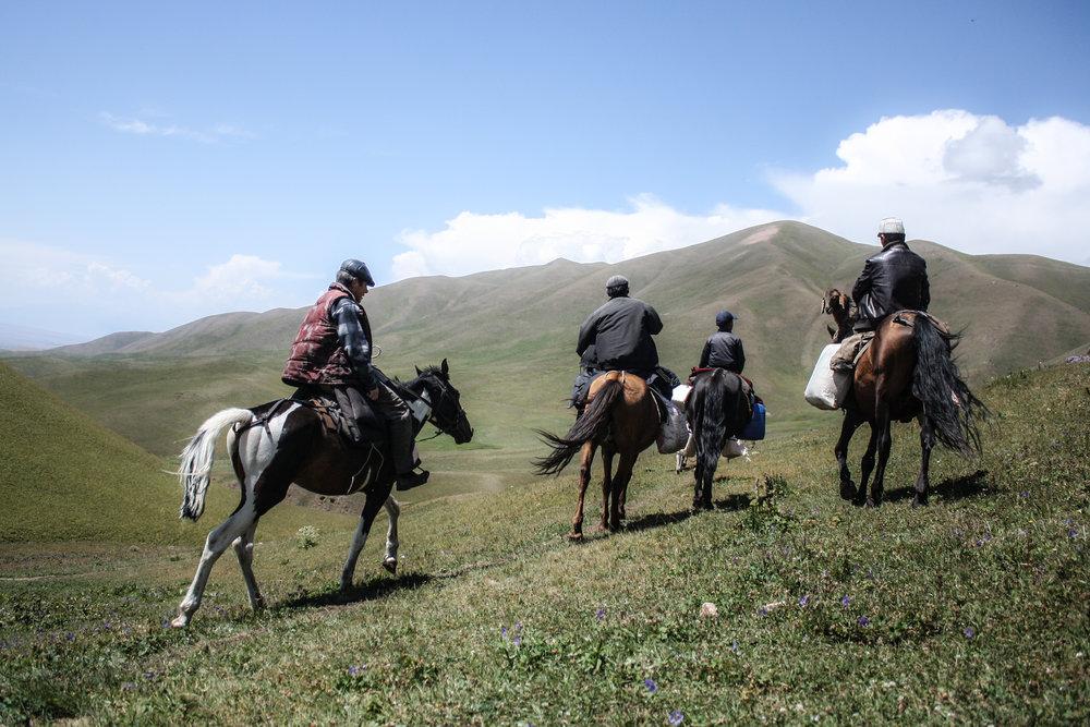 Nomadic traders, Kochkor, Kyrgyzstan.jpg