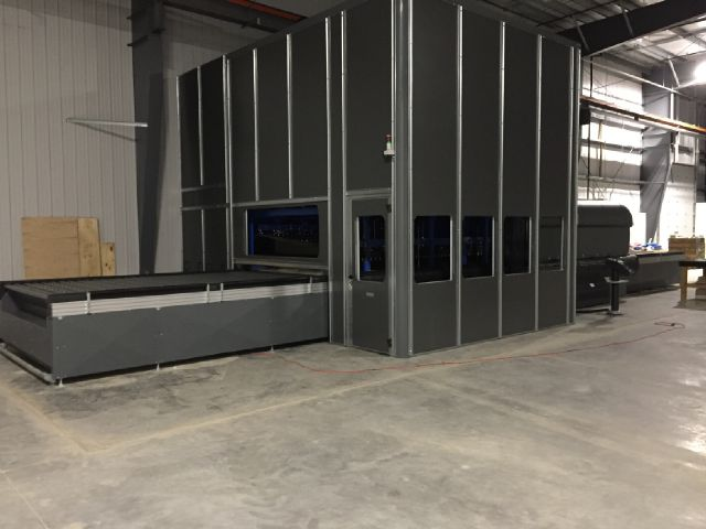 "KeraGlass's  newest model of oscillating tempering oven. Contains state of the art features. this produces incredibly clear glass. This is a very large tempering furnace. The furnace has a bed size of 2300 mm x 3600 mm (90"" x 140"") The furnace will temper glass with thickness from 3.2 mm to 19 mm."