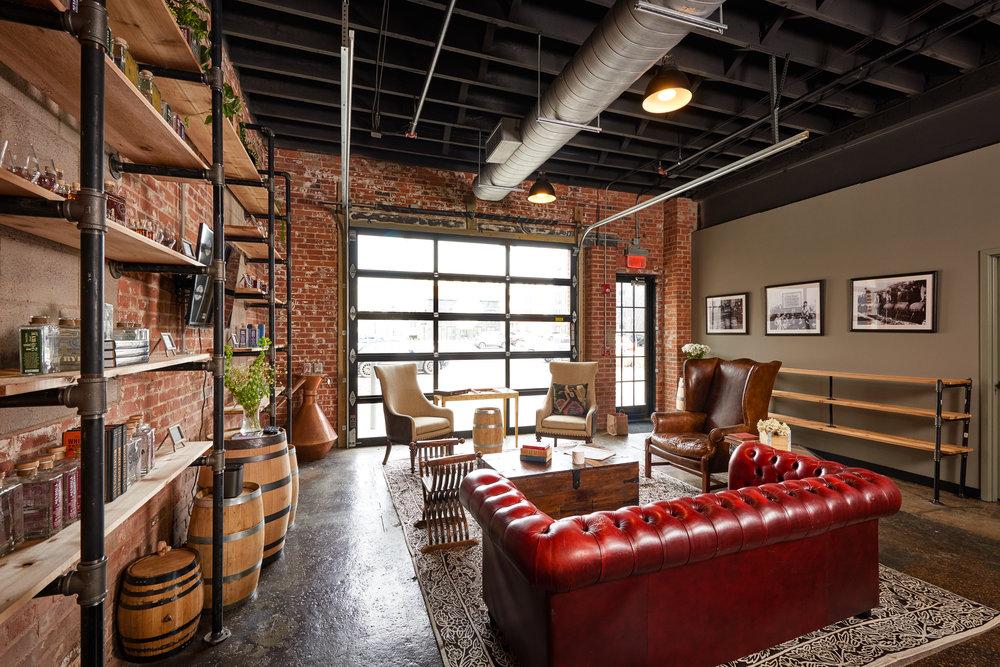 Lounge area in Tasting Room