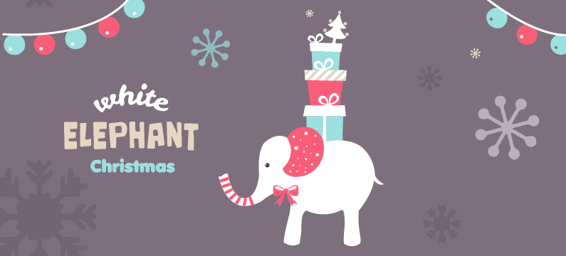 White Elephant Gift Exchange & Potluck - Sat, December 15 gift exchange & potluck after 9:30a class!