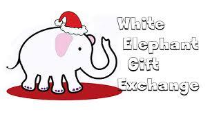 White Elephant Gift Exchange & Potluck - Sat, December 16  gift exchange & potluck after 9:30a class!