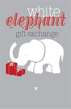 White Elephant Gift Exchange & Potluck - Sat, December 15 gift exchange & potluck after 9:30a class!