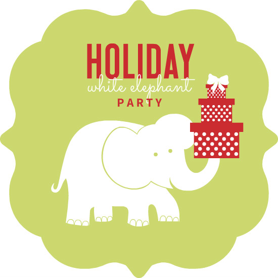 White Elephant Gift Exchange & Potluck - Sat, December 16  gift exchange & potluck after 9:30a class!