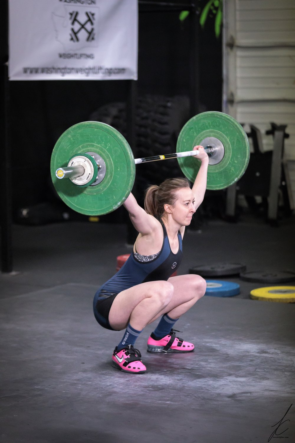 Morgan Chaput CF-L1   morgan started CrossFit in August 2014, when her sister dragged her to her first class. she got her CF-L1 during Snowmageddon in February 2019. morgan LOVEs snatching and box jumps and could live without chippers and WODs that involve running. she loves dropping into CF gyms when traveling and In real life, she is the probation attorney at Pierce County Juvenile Court and an award winning quilter!