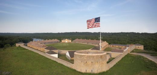 Historic Fort Snelling, courtesy ofhttp://www.historicfortsnelling.org/ Tyson uses this historic site to engage in her analysis of emotional labor and difficult history.