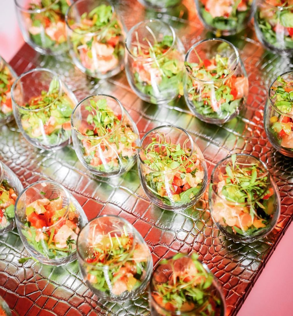 Miami Venue / Miami Catering - Hors D'Oeuvres