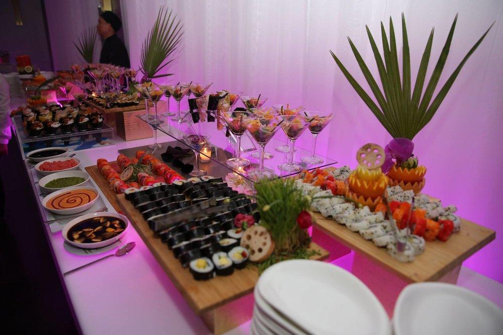 Miami Venue / Miami Catering - Gourmet Sushi Station