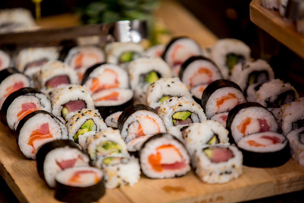 Miami Venue / Miami Catering - Sushi Station