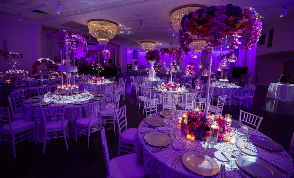 Emanuel Luxury Miami Beach Wedding Venue Table Settings