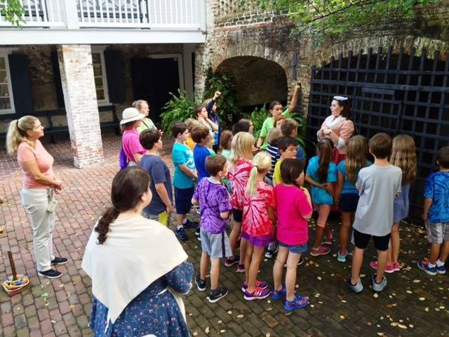 "Burgwin Wright House  ""People of the Past"" program, a Colonial era living history program  for every fourth grader in the New Hanover County School system to reinforce American history lessons."