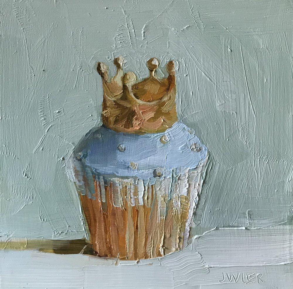 Royal Cupcake IV (blue)