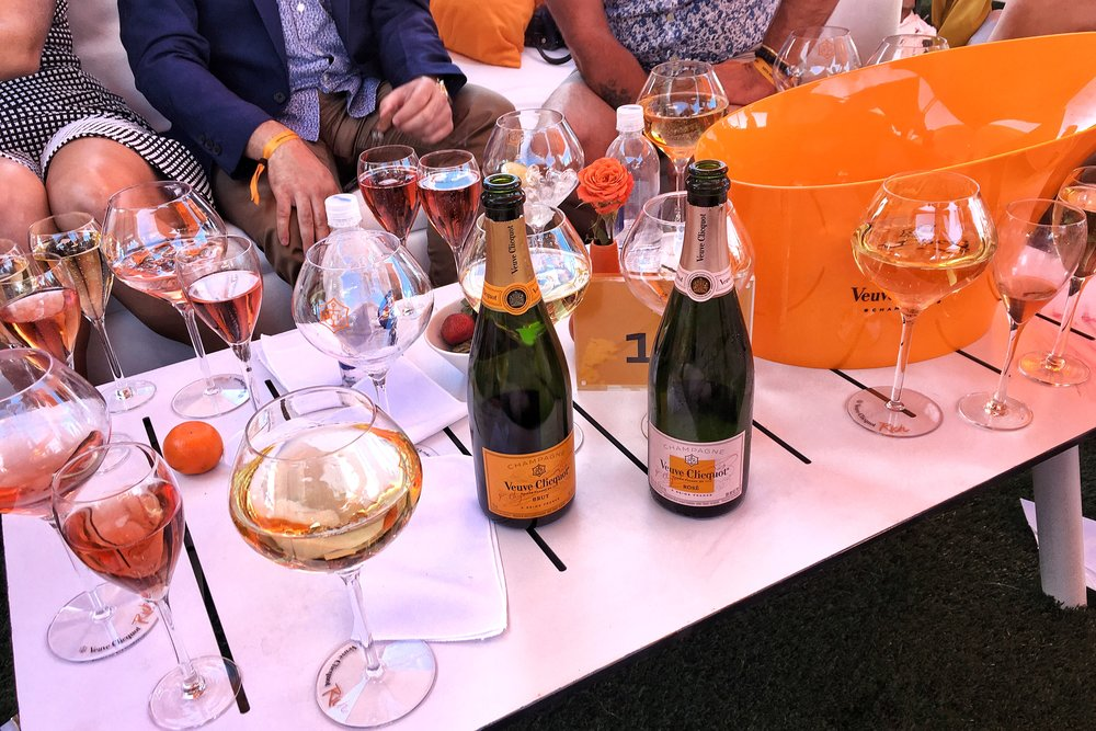 Raise a Glass: friends & champagne