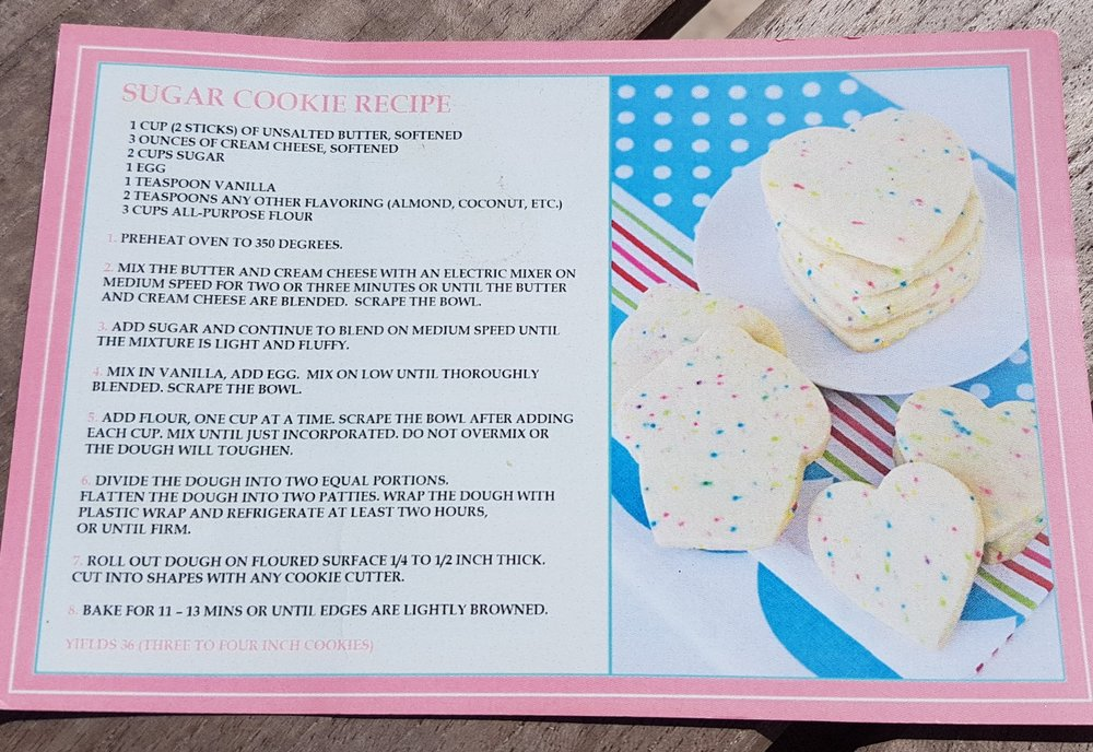 Famous Sugar Shack Cookie Recipe