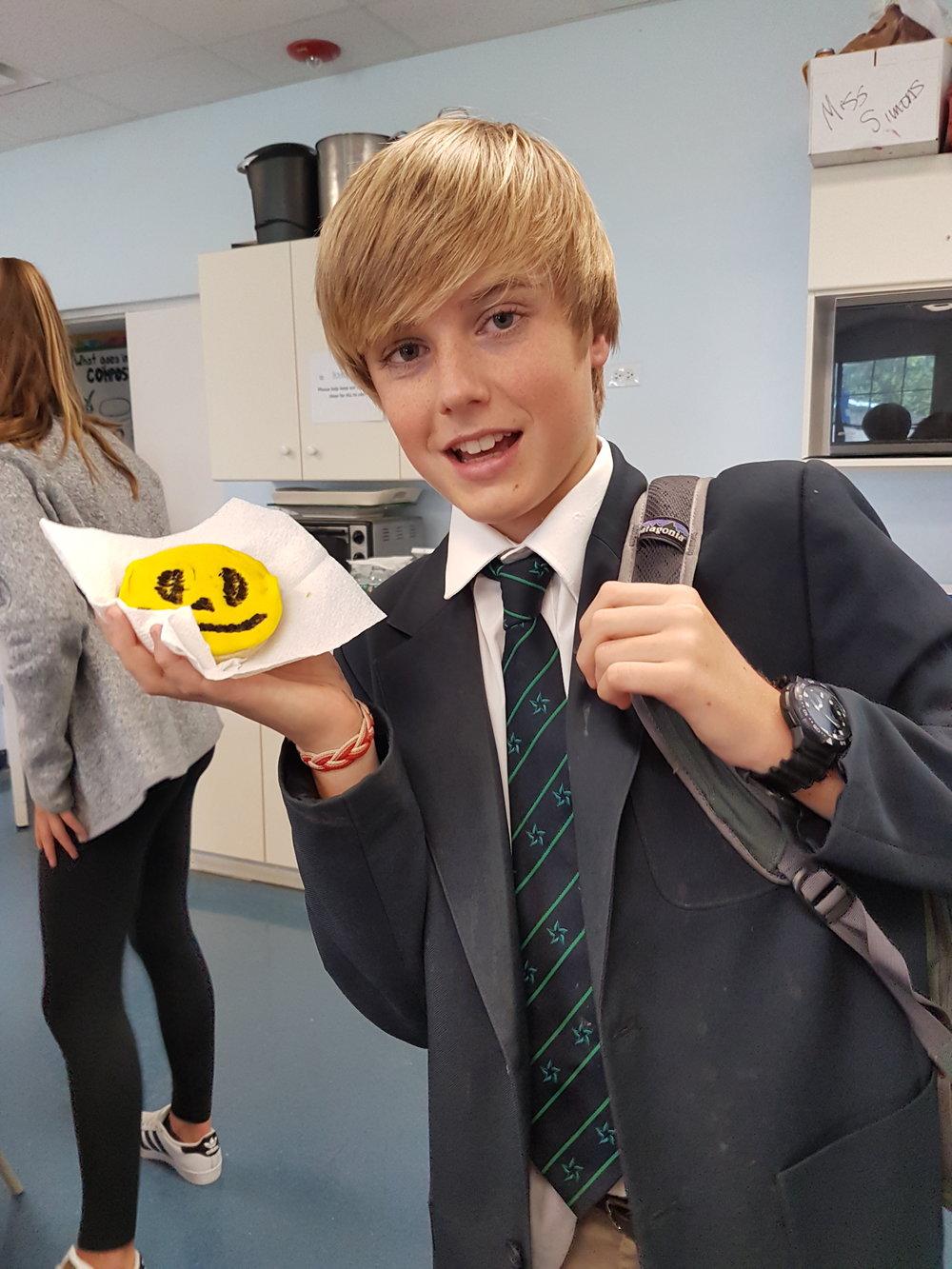 Grayson's emoji cookie.jpg