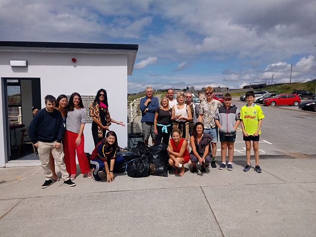 Well done to the gang at Spanish point who took part in Sunday's beach clean 🤙🤙🤙