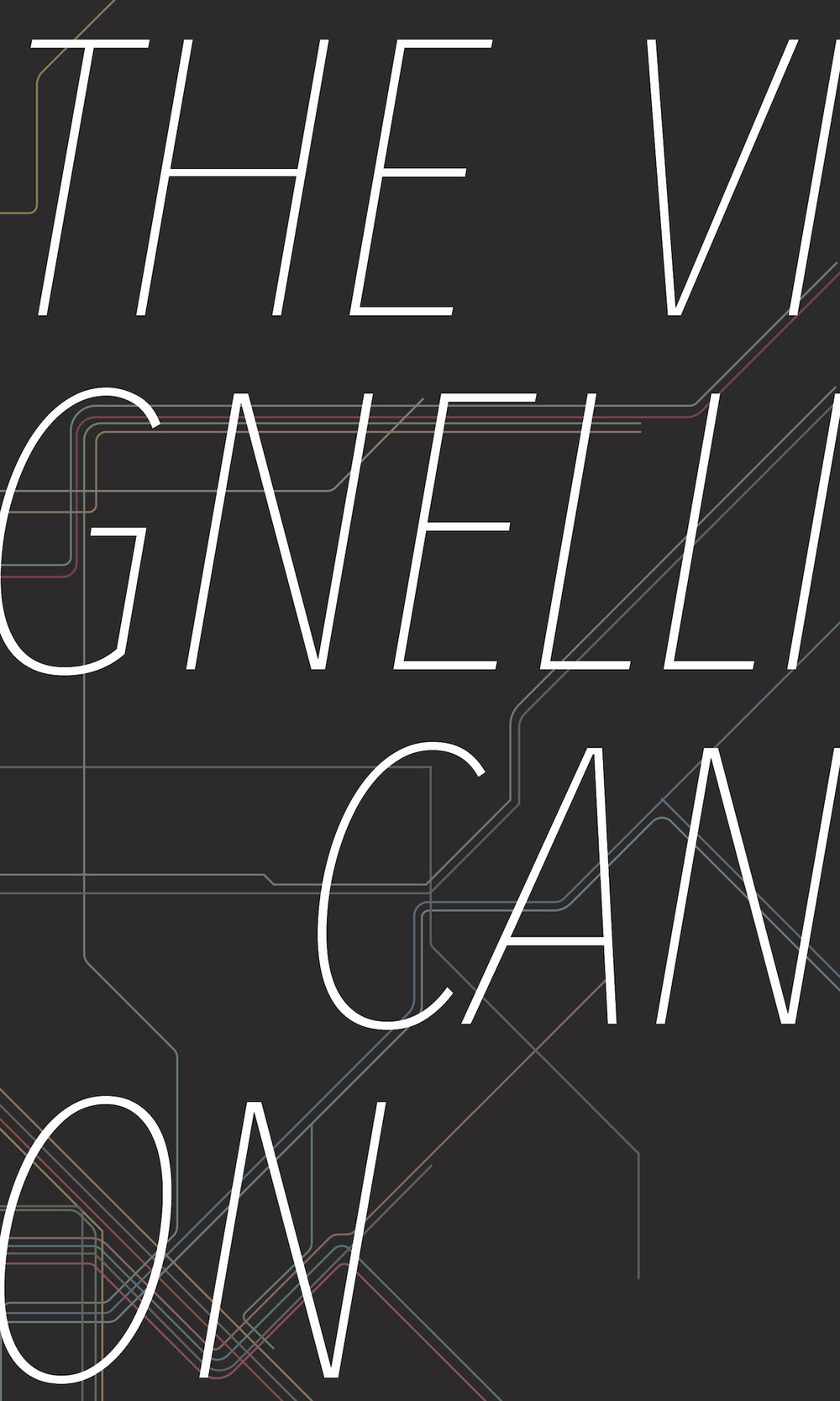 Vignelli Cannon - This is project from the Content to Cover book design course at WashU. Using the text from Italian modernist Massimo Vignelli's guide to design, I formated the book pages and added my own illustrations of some of his famous works.