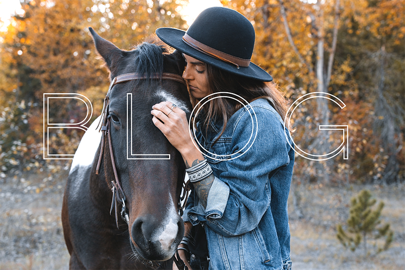 Have a peek into my life. With my horses on our ranch. On shoots. And on mountain adventures. I also write, sometimes