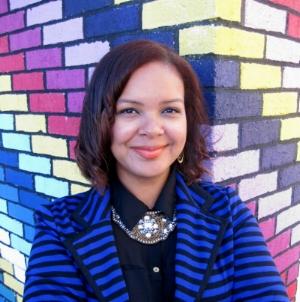 Curator Kayleigh Bryant-Greenwell