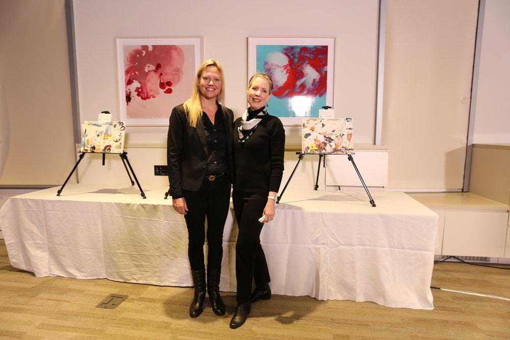 Monique Rollins (artist) &Kathrine Page (curator)