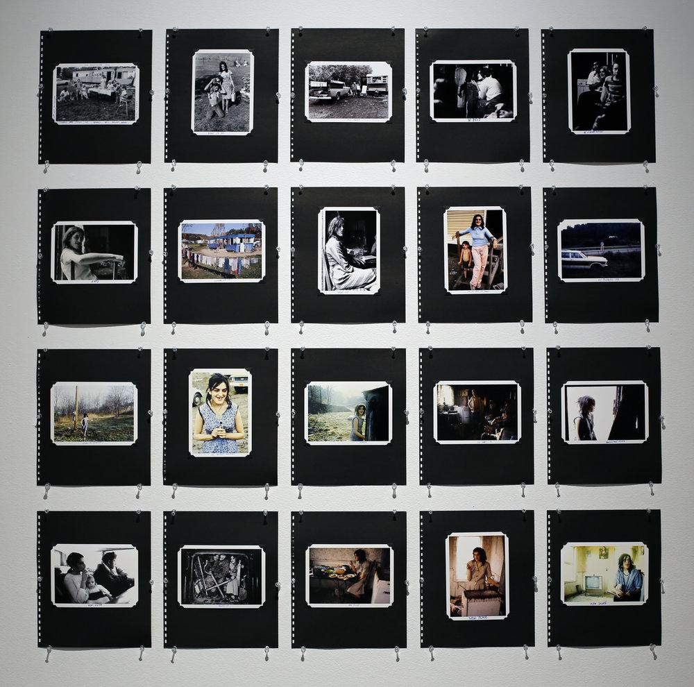 Noel Sylvester, Suppertime - Redux Wanda's Scrapbook, 35mm Polychrome film prints