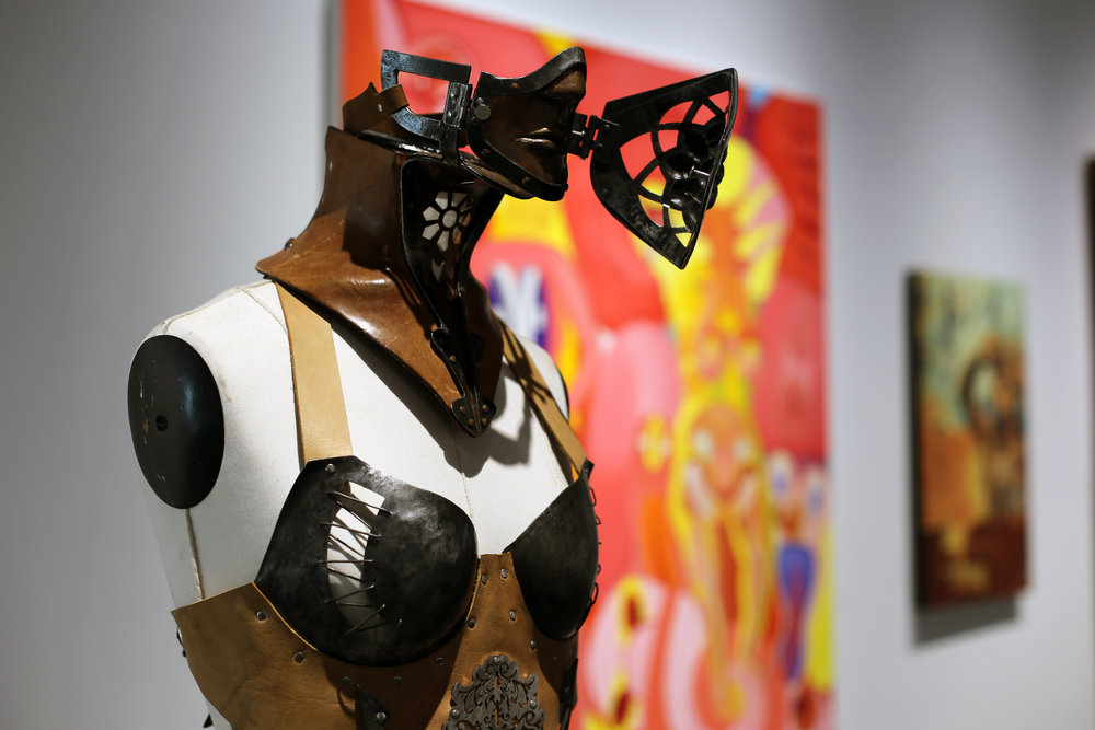 Ellen Durkan, Forged Fashion: Speak, Steel, leather