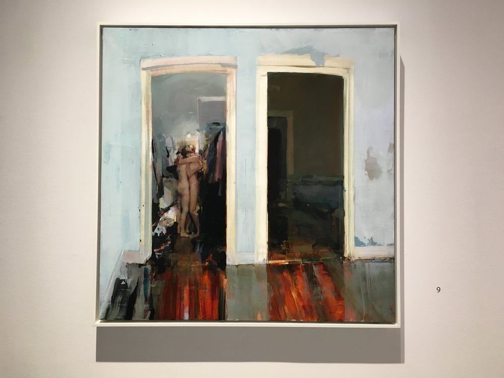 Alex Kanevsky, Walk-in Closet, oil on panle