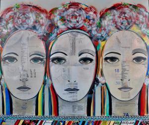 Sisters, by Ola Rondiak