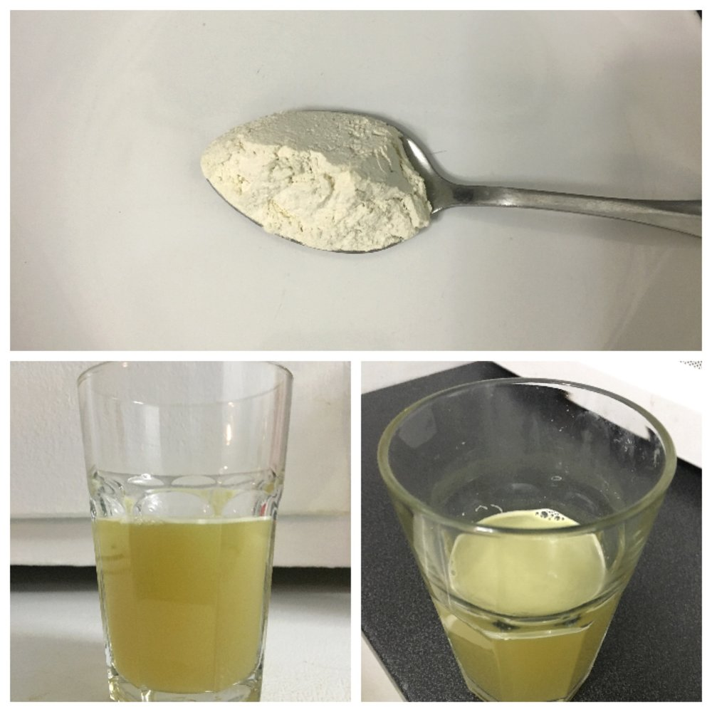 Raw sugarcane powder (also known as raw sugarcane juice powder or raw sugarcane water powder)