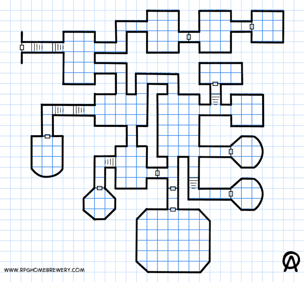 Map 1 - Simple