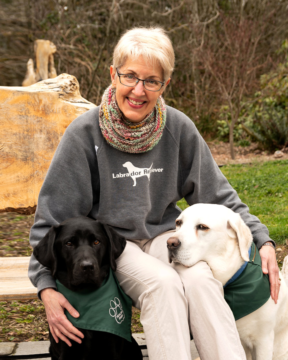 Christi Dudzik, Paddy and Viggo, Healing Paws 2018