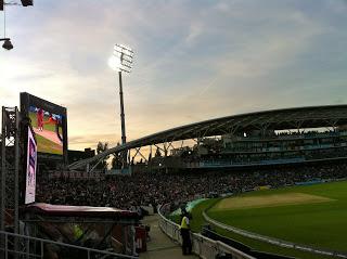 Kia Oval England vrs West Indies Natwest International 20's