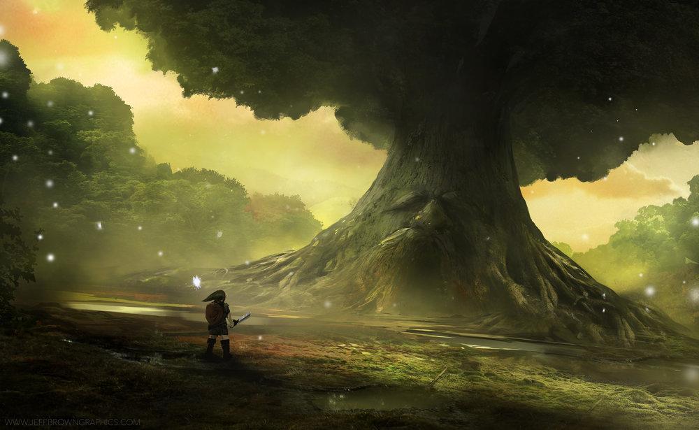 1292-the-great-deku-tree-jeff-brown
