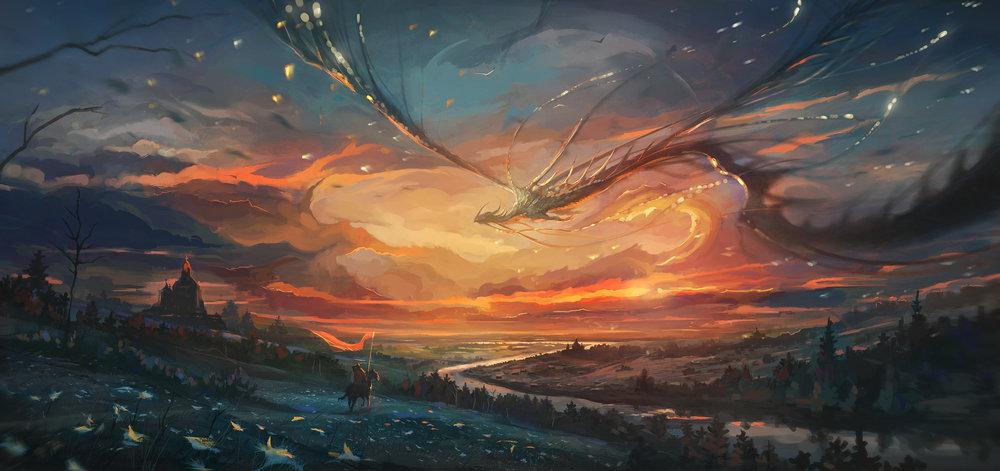 1400-draconic-sunset-nik-moskvin