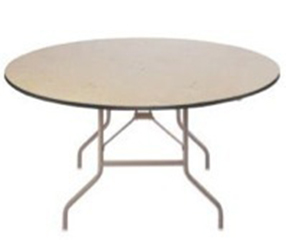 4'-5' Round Tables - Rental Rate: $8.00 ea.6' Round Tables: $10.50 ea.