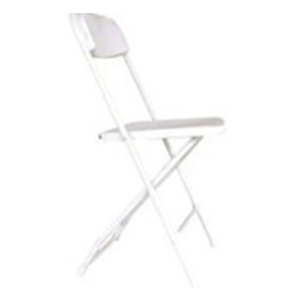 Chairs - White - Rental Rate: $1.75 ea.