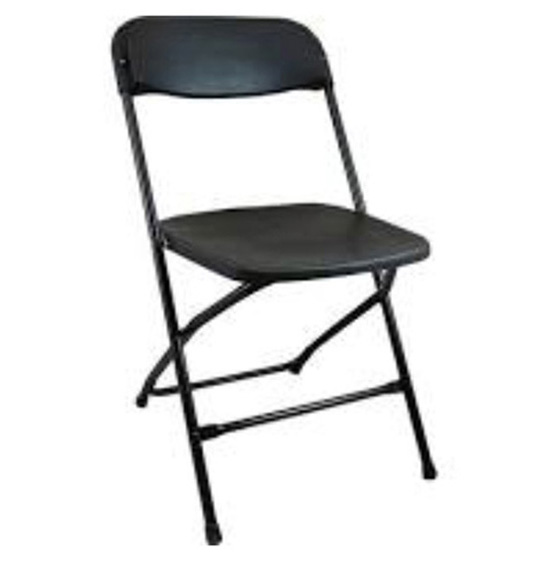Chairs - Black - Rental Rate: $1.75 ea.
