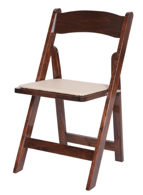 Chairs - Fruitwood - Rental Rate: $2.95 ea.