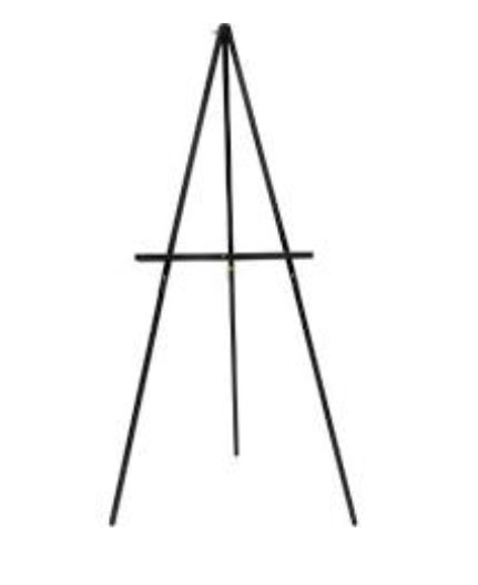 Easel Stand - Rental Rate: $15