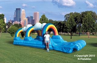 Rainbow Water Surf & Slide   Rental Rate:$175/day 25' Long