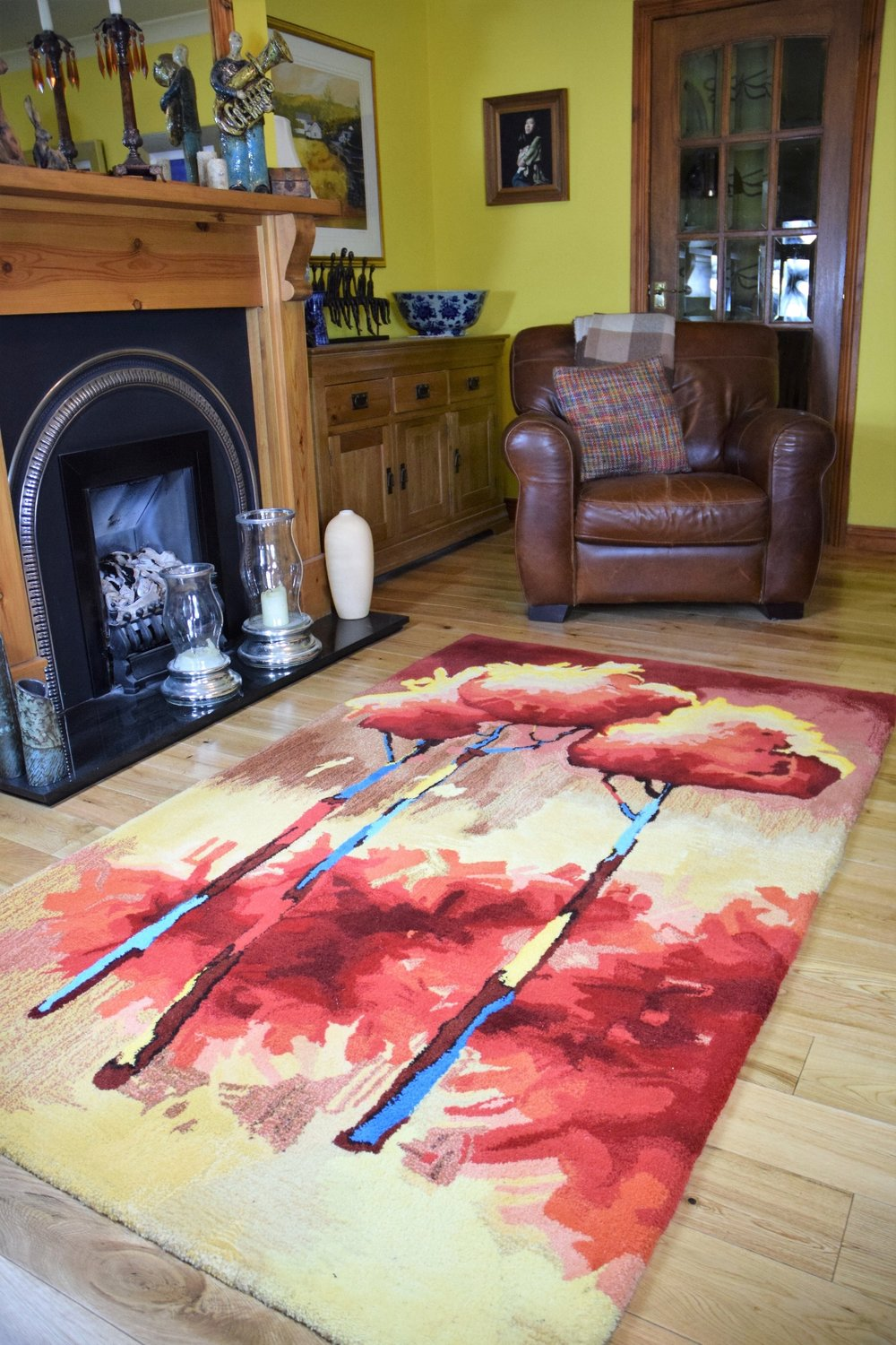 Morug one off  bespoke designer hand made rug .JPG