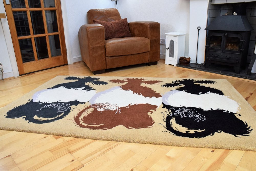 Belties one off bespoke designer hand made art rug.JPG