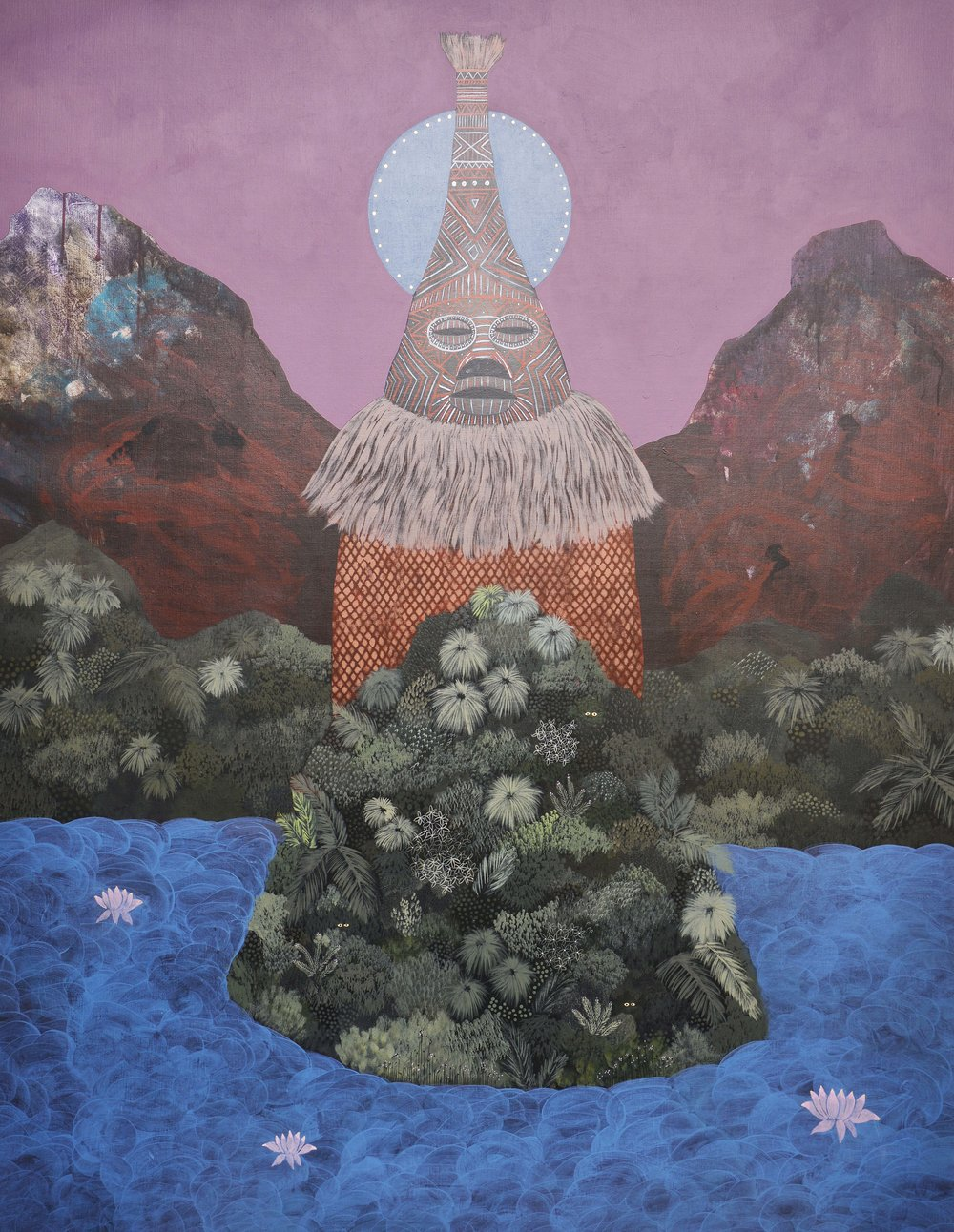 Marc Standing,  The Awakened One , 2016, acrylic on canvas, 120 x 155 cm